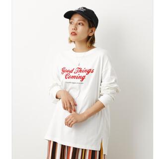 ロデオクラウンズワイドボウル(RODEO CROWNS WIDE BOWL)のGOOD THINGS L/S Tシャツ(カットソー(長袖/七分))