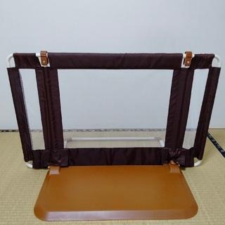 ニホンイクジ(日本育児)の日本育児のおくだけとおせんぼ Sサイズ ブラウン(ベビーフェンス/ゲート)