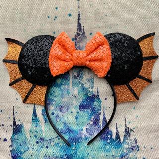 Disney - 【海外限定】ハロウィン カチューシャ コウモリ