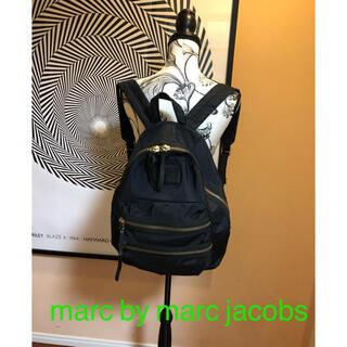 マークバイマークジェイコブス(MARC BY MARC JACOBS)のmarc by marc jacobs  リュック 黒(リュック/バックパック)
