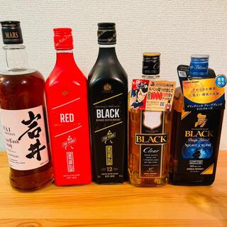 ニッカウヰスキー - 【限定品・終売】ニッカ、マルス ジョニー 5本セット