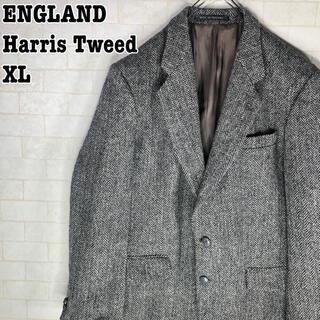 ハリスツイード(Harris Tweed)のイギリス製 90s レトロ ブリティッシュ ヴィンテージ ハリスツイード(テーラードジャケット)