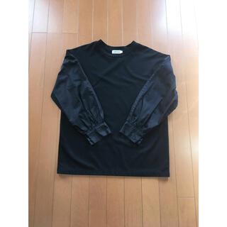 レプシィム(LEPSIM)の黒 LEPSIM 袖切替 レプシィム カットソー フリーサイズ(カットソー(長袖/七分))