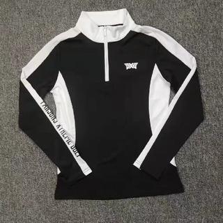PXGゴルフウェア長袖シャツ黒S