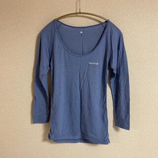 mont bell - モンベル スーパーメリノウール L.W. Uネックシャツ レディース Mサイズ