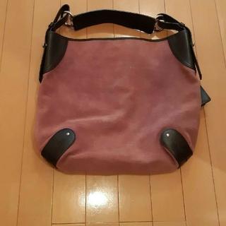Bally - バリーBALLYラベンダーピンク×本革ベルトショルダーハンドバッグ
