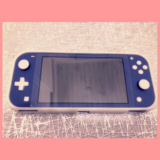 Nintendo Switch - 【美品】Nintendo Switch Lite本体 ブルー