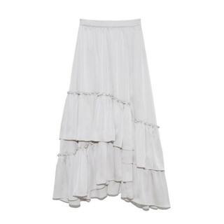 Lily Brown - lilybrown ランダムティアードスカート スカート ロングスカート