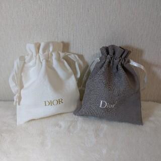 ディオール(Dior)のシャネル保存袋に1枚交換も可◇新品未使用品◇Dior ディオール ノベルティ巾着(ノベルティグッズ)