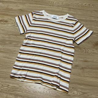 ローリーズファーム(LOWRYS FARM)のローリーズファーム ボーダーカットソー (Tシャツ(半袖/袖なし))