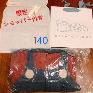 ジェラートピケ(gelato pique)の週ジェラピケ マリオ 140 ラッピング袋付き 未開封 (パジャマ)