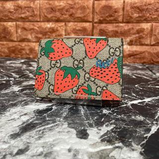 Gucci - 美品 GUCCI 2つ折り財布 コンパクトウォレット グッチ