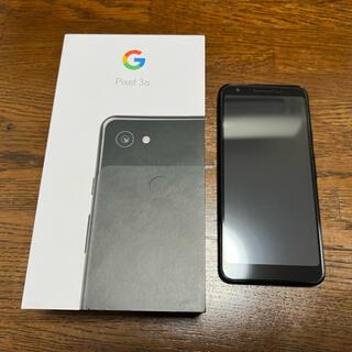 Google Pixel - Google Pixel 3a Just Black 64GB 美中古 ケース付
