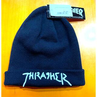 THRASHER - 新品★THRASHER スラッシャー ビーニー ニットキャップ
