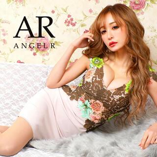 AngelR - 9323*マルチフラワーレース刺繍ドレスmcM