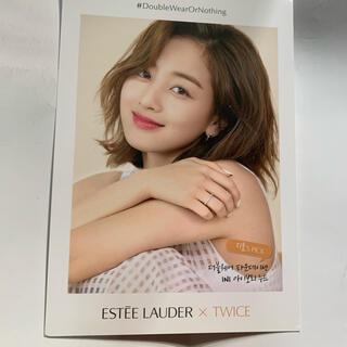 ウェストトゥワイス(Waste(twice))のTWICE ジヒョ 公式ポストカード エステーローダー限定(K-POP/アジア)