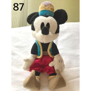 ミッキーマウス(ミッキーマウス)の87 ミッキー おすわり ぬいぐるみ(ぬいぐるみ)