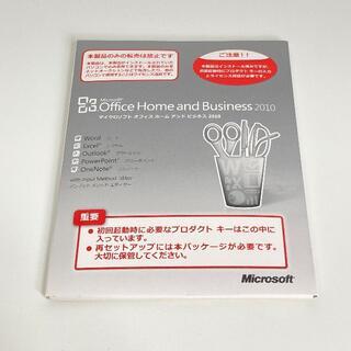 マイクロソフト(Microsoft)のMicrosoft Office Home and Business 2010(その他)