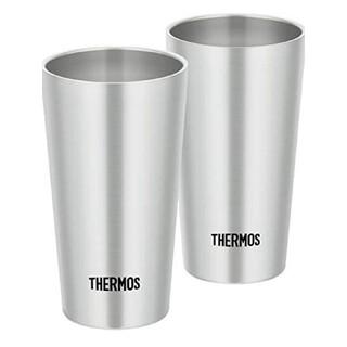 サーモス 真空断熱タンブラー 300ml ステンレス 2個セット