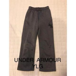 アンダーアーマー(UNDER ARMOUR)のUNDER ARMOUR アンダーアーマー YLG 150 裏起毛 暖か グレー(パンツ/スパッツ)