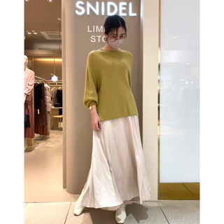 snidel - *ニットスカートセットアップ*