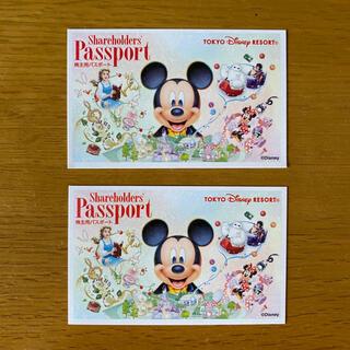 ディズニー(Disney)のディズニー 株主優待券2枚(その他)