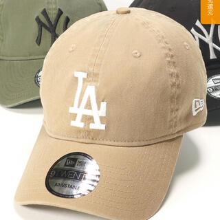 ニューエラー(NEW ERA)のニューエラ 9TWENTY ストラップバック ウォッシュドコットン MLB LA(キャップ)