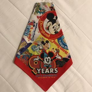 ミッキーマウス(ミッキーマウス)の【新品】ミッキー90thバンダナ(キャラクターグッズ)
