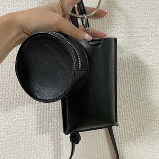 moussy - moussy RING HANDLE SHOULDER バッグ