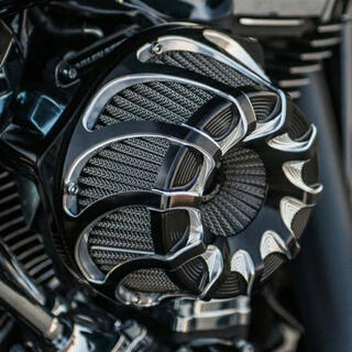 Harley Davidson - 超美品 アレンネス Drift Invertedエアクリーナー ブラック