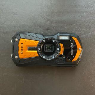 リコー(RICOH)のリコー RICOH WG-70 オレンジ コンパクトデジタルカメラ SDカード付(コンパクトデジタルカメラ)
