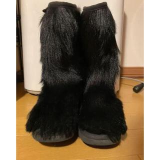 アグ(UGG)のMOU ゴートスキンカウボーイブーツ ファーブーツ 怪獣ブーツ(ブーツ)