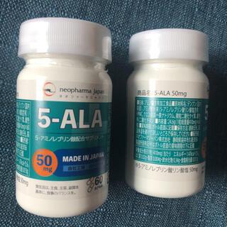 アラ(ALA)の5-ALA ネオファーマジャパン サプリメント 新品未開封 60粒×2(アミノ酸)