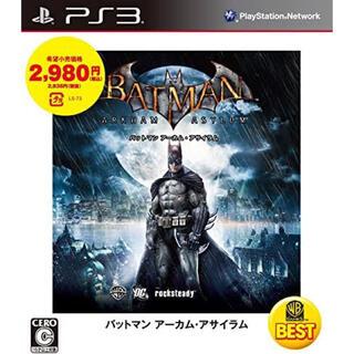 プレイステーション3(PlayStation3)のバットマン アーカム・アサイラム WARNER THE BEST(家庭用ゲームソフト)