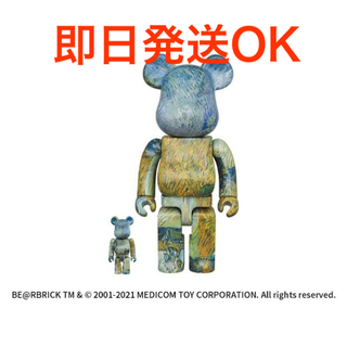 MEDICOM TOY - 【ゴッホ展】ゴッホ Van Gogh BE@RBRICK 100%&400%
