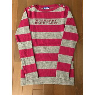 バーバリーブルーレーベル(BURBERRY BLUE LABEL)のバーバリー セーター(ニット/セーター)