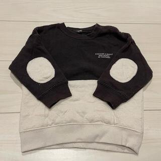 フタフタ(futafuta)のトレーナー 裏起毛 90(Tシャツ/カットソー)