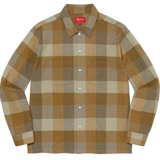 Supreme - 21FW Supreme Plaid Flannel Shirt L