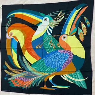 エルメス(Hermes)のカレ90 スカーフ 楽園のオオハシ(スカーフ)