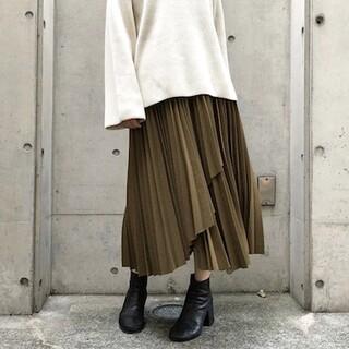 Ameri VINTAGE - クラネ ラッププリーツスカート