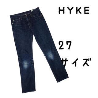 ハイク(HYKE)のHYKE ハイク デニム 27 パンツ ジーパン(デニム/ジーンズ)
