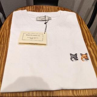 メゾンキツネ(MAISON KITSUNE')のメゾンキツネ Tシャツ ダブルフォックス(Tシャツ(半袖/袖なし))