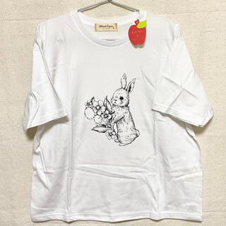 franche lippee - フランシュリッペ プリントTシャツ おくりもの
