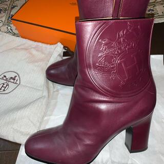エルメス(Hermes)の希少 エルメス ブーツ 24.5cm(ブーツ)