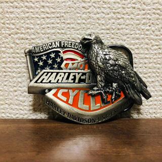 ハーレーダビッドソン(Harley Davidson)のHARLEY/ハーレーダビッドソン ベルトバックル 星条旗 アメリカ USA(ベルト)
