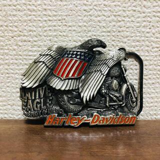 ハーレーダビッドソン(Harley Davidson)のHARLEY/ハーレーダビッドソン ベルトバックル アメリカ USA イーグル(ベルト)