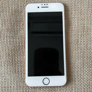 iPhone - iPhone 8 Gold 64 GB SIMフリー iFaceカバー付き