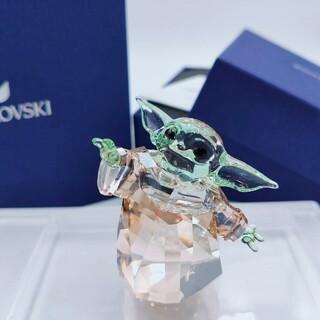 SWAROVSKI - 【新品未使用】スワロフスキー スターウォーズ マンダロリアン  Disney