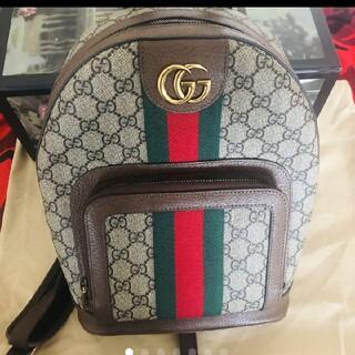 Gucci - GUCCI GG スモール バックパック リュック