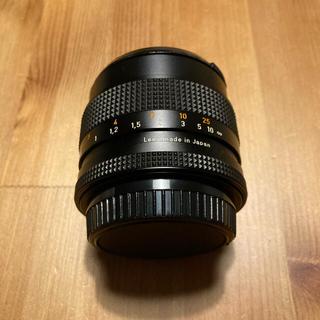 Carl Zeiss Planar T 1.4 50 広角レンズ ブラック